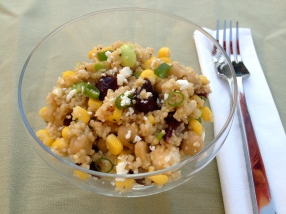 Couscous and Edamame Salad